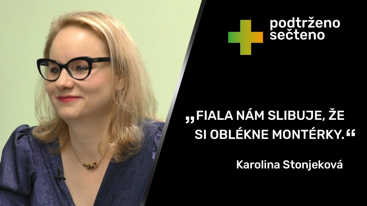"""Download """"Bartoš s muslimy prozřel jen před volbami. Kampaň je nesmírně necitlivá."""" – Karolina Stonjeková."""