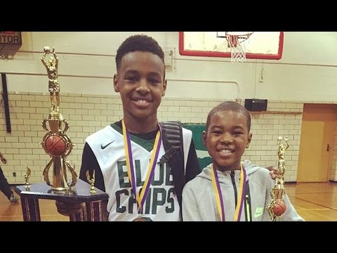 LeBron James Watches His Sons Dominate at Ohio Basketball Showcase