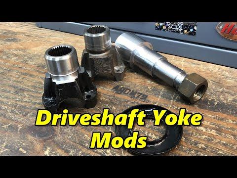 SNS 269: Modifying a Driveshaft Yoke, Youtube Meet-up Announcments