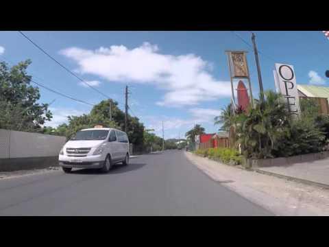 Polynésie française Bora Bora Routes en buggy, Gopro / French Polynesia Road in buggy