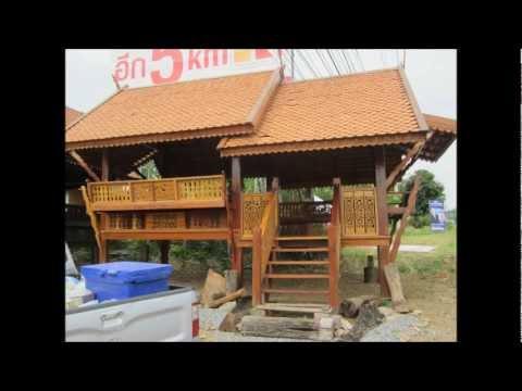 thailand und seine holzhauser 2013 thailand and its holzhauser youtube. Black Bedroom Furniture Sets. Home Design Ideas