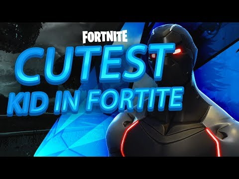 Meeting The CUTEST Kid In Fortnite! - Fortnite Battle Royale Playground Fill!
