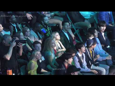180520 BTS reaction to Shawn Mendes @BBMAs