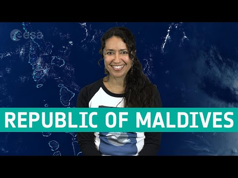 Earth from Space: Republic of Maldives