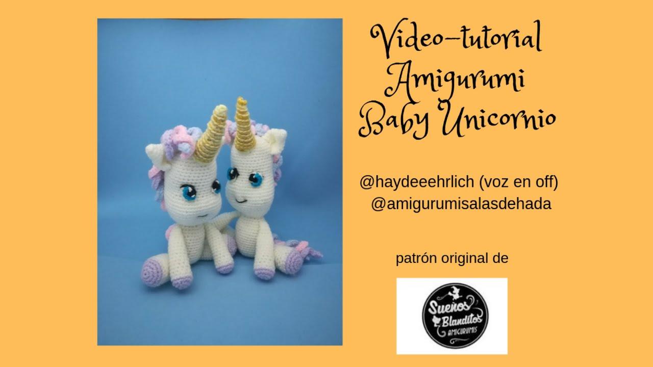 Unicornio Muñeco Peluche Amigurumi Crochet Bebé Tejido - $ 1.550 ... | 720x1280
