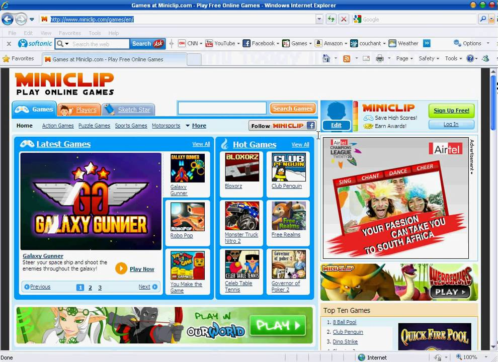 How To Download Miniclip Games Free Youtube