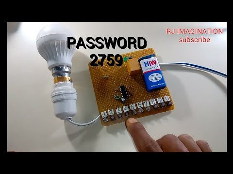 Password Security For Electronics Device Diy Electronics Project With Diagram