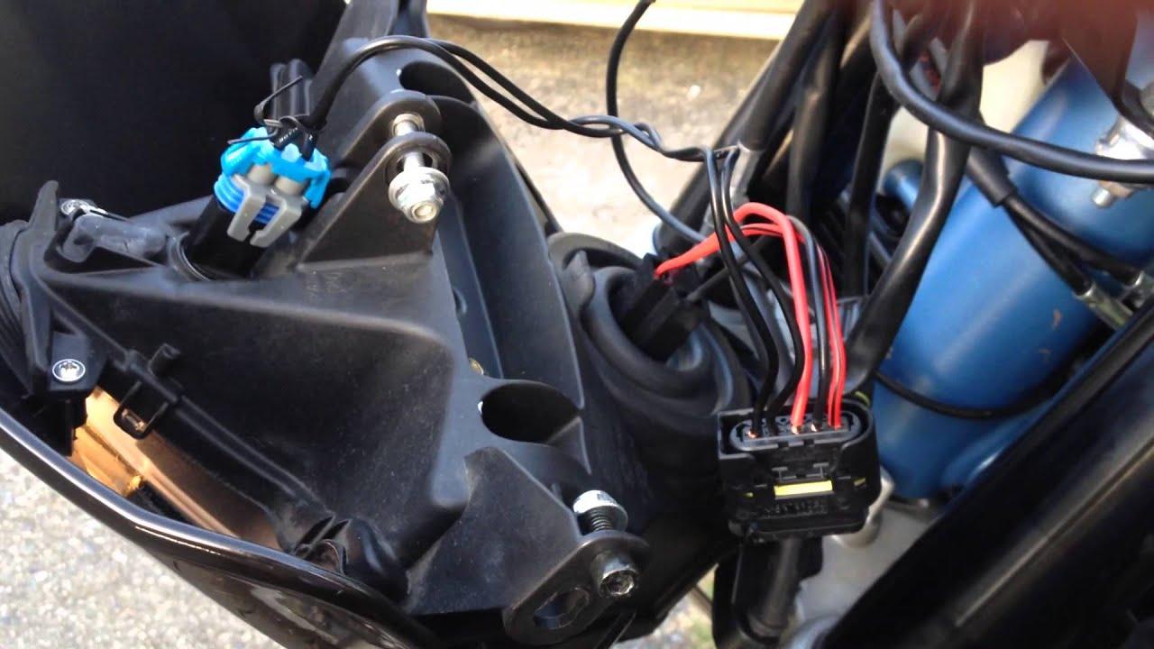 medium resolution of aprilia wiring headlights and turn signals