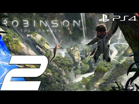 Robinson The Journey (PS4) - Gameplay Walkthrough Part 2 - Argentinosaurus  (Longneck) [1080p 60fps]