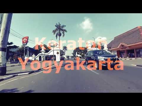A walk to Keraton Yogyakarta