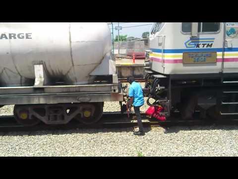 KTM Malaysia Diesel Locomotive 26108 TG. KUPANG