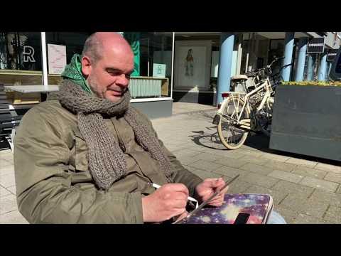Stadstekenaars Leggen Rotterdam In Coronatijd Vast