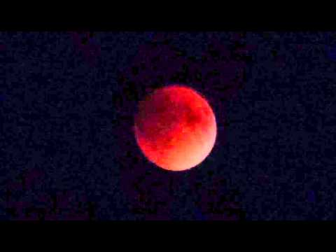 A Total Lunar Eclipse or Blood Moon - view in New York