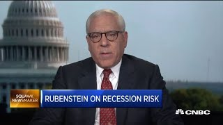 David Rubenstein explains why he thinks the US is due for a recession