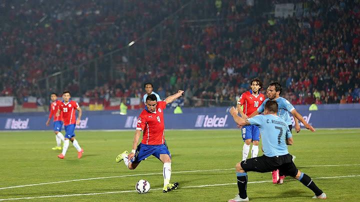 chile 1  0 uruguay  gol de mauricio isla