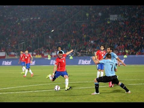 Chile 1 - 0 Uruguay - Gol de Mauricio Isla