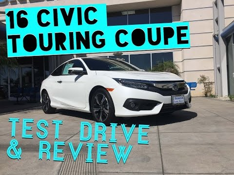 2016 Honda Civic Touring Coupe Review and...