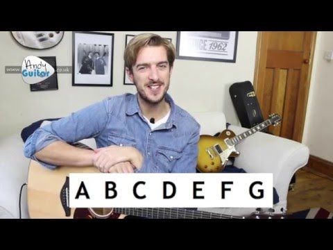 Guitar Note Names EXPLAINED in 5 minutes – Learn The Guitar Fretboard (Beginners Course Level 6 #5)