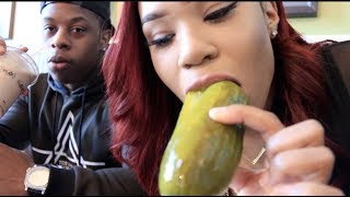 PICKLES AND POTBELLY MUKBANG EATING SHOW