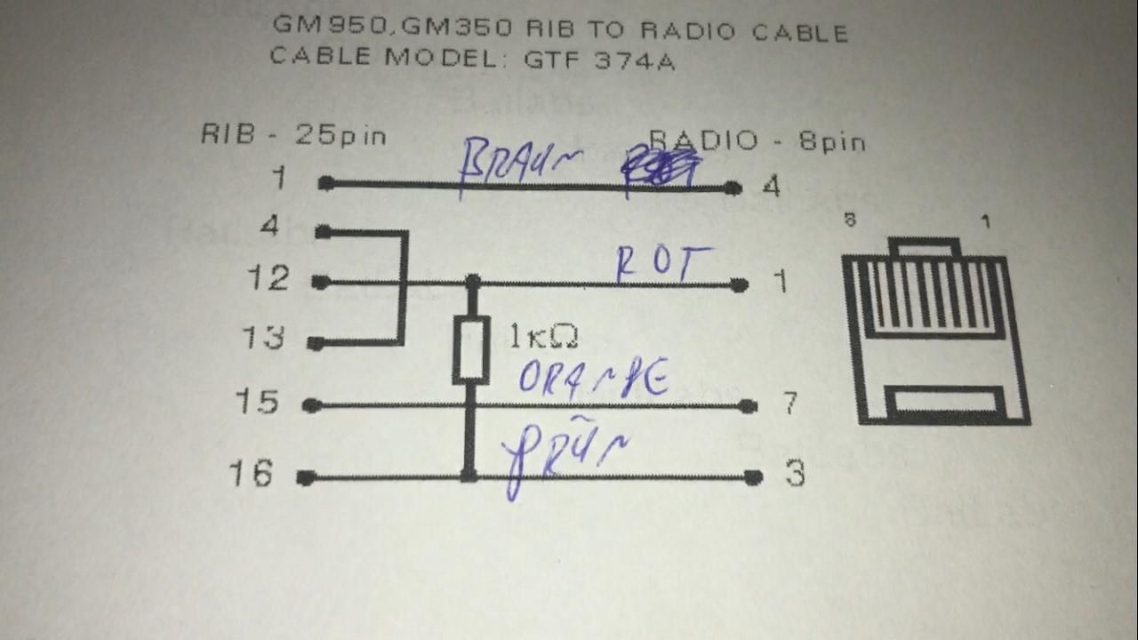 Amateurfunk: Programmierkabel für Motorola GM350