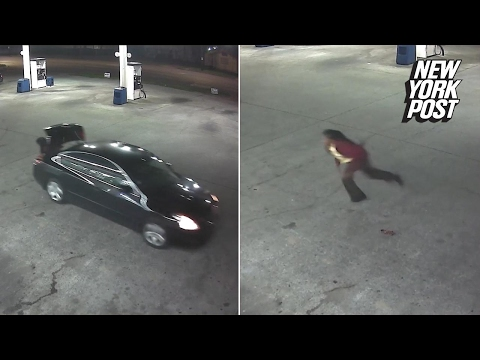 Kidnap victim makes daring escape from the trunk of a moving car | New York Post