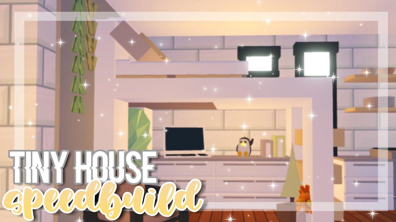 Cozy Tiny House Speedbuild Adopt Me Adopt Me Speedbuild Youtube
