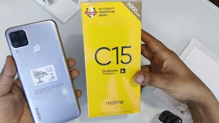 Realme C15 Qualcomm Edition Unboxing , First Look & Review !! Realme C15 Best Budget Phone 2020