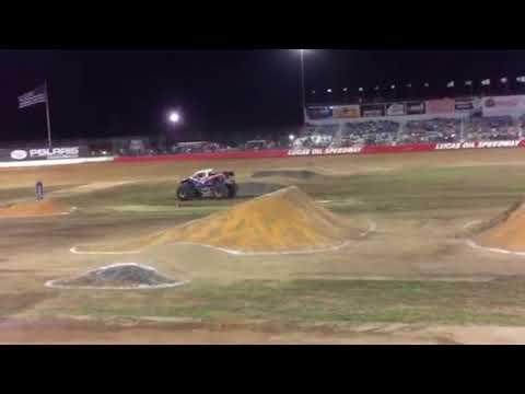 Lucas Oil Speedway Darron Schnell driving Bigfoot