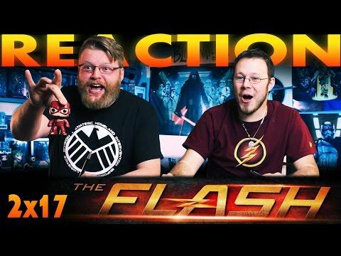 "The Flash 2x17 REACTION!! ""Flash Back"""