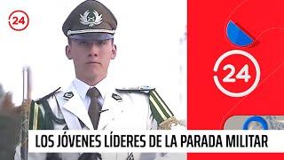Tambores mayores: Los jóvenes líderes de la parada militar