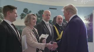 President Trump Welcomes the President of Finland to the White House