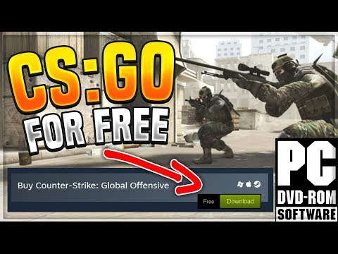 How To: Get CS:GO For FREE + Multiplayer! LEGIT!! STEAM 2017