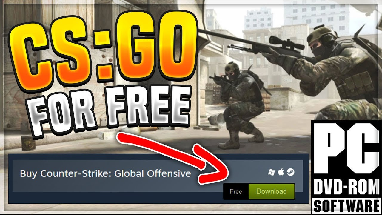 how to get cs go for free