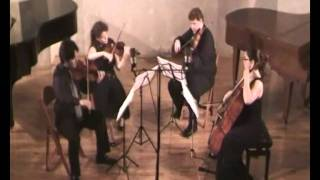 Haydn Quartet op 9 no 4 Menuet