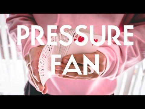 Pressure Fan (card flourish tutorial)