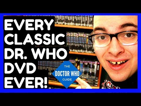 Doctor Who DVD Collection | 2018 | Every Classic Dr. Who DVD Release!