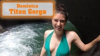 Titou Gorge auf Dominica - Drehort Fluch der Karibik