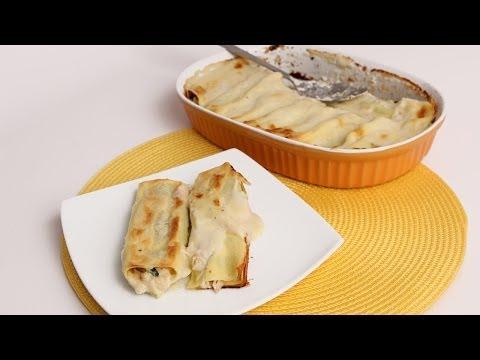Crab Stuffed Manicotti Recipe- Laura Vitale - Laura in the Kitchen Episode 693