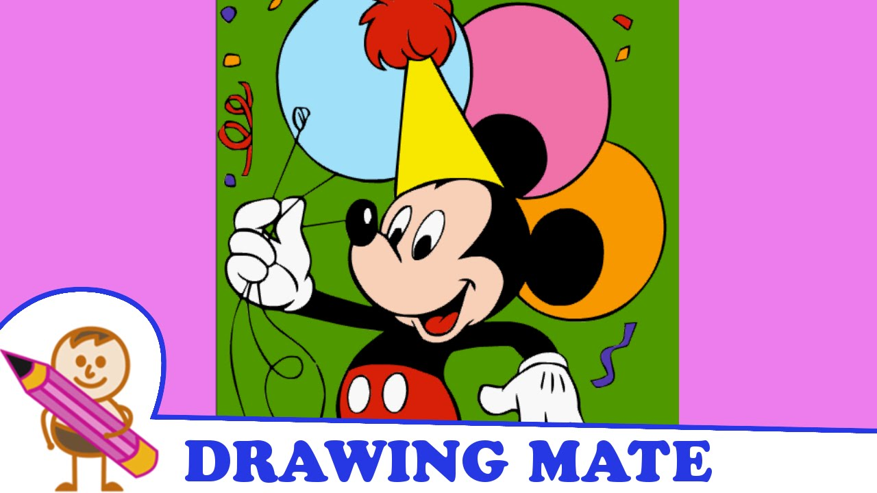 Mickey Mouse Coloring Pages Colouring Book Kolorowanki Malowanki Gry Dla Dzieci Myszka Miki