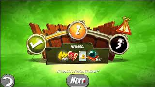 Beat The Daily Challenge King Pig Panic Completed in Angry Birds 2 wednesday (2)