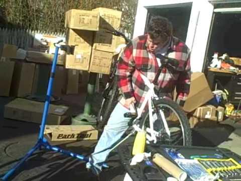 Park Tool Pcs 9 Home Bike Repair Stand Youtube