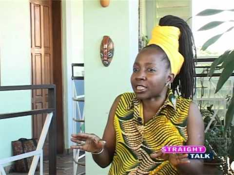 Kah Walla On STV Straight Talk With Jessie Bawak