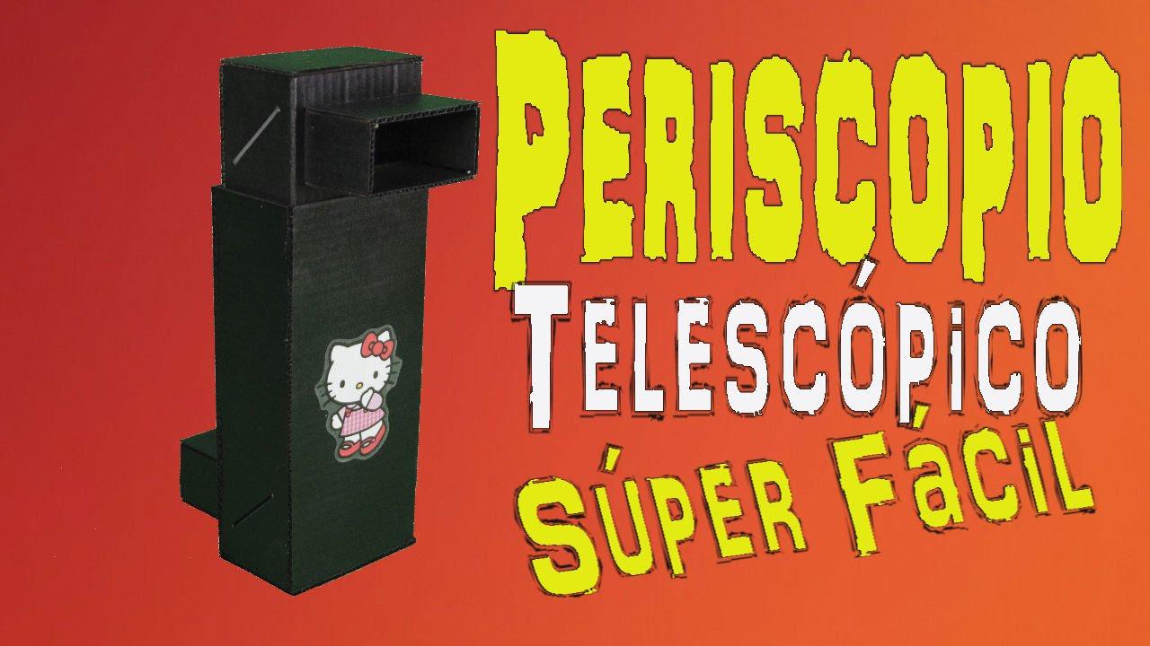Como hacer un periscopio casero telesc pico periscope for Materiales para un vivero forestal