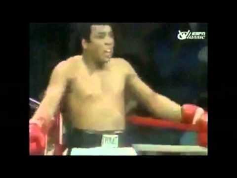 Muhammed Ali'nin Yakın Mesafeden İnanılmaz Refleksi..!