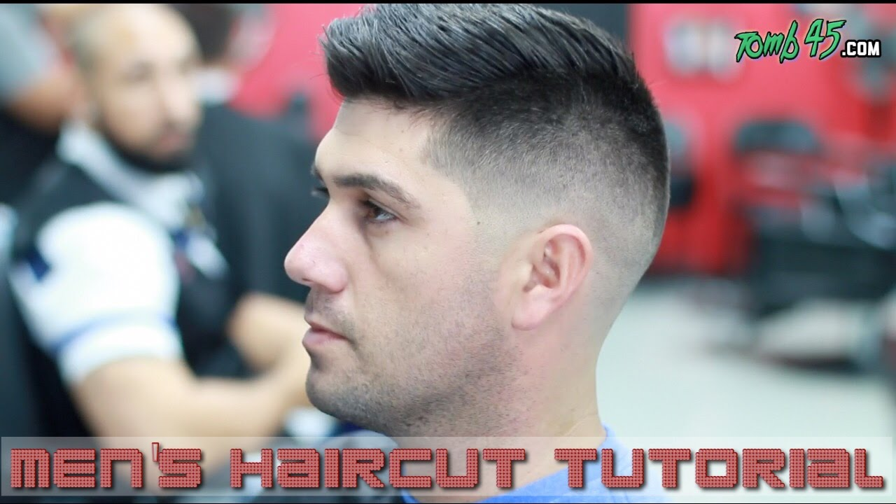 Fading Styling Thick Hair Like Sergio Aguero Barber Tutorial - Aguero hairstyle new
