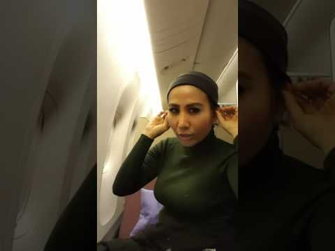 Ratna dilla @Garuda flight to Tokyo