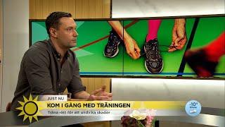 Träna rätt för att undvika skador - Nyhetsmorgon (TV4)