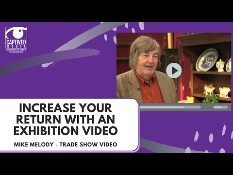 Mike Melody Antiques at Antiques for All, NEC Birmingham Trade Show Video