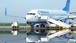 Полет на самолете Боинг 737-800 Авиакомпания Победа