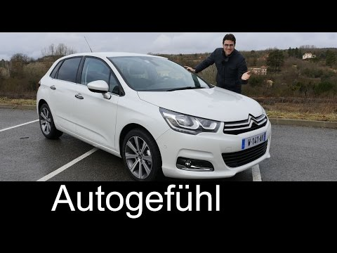 Citroen C4 Facelift Selection test driven FULL REVIEW - Autogefühl